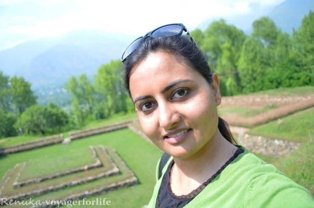 Renuka Traveling alone in Kashmir