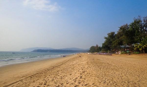 Agonda Beach in South Goa
