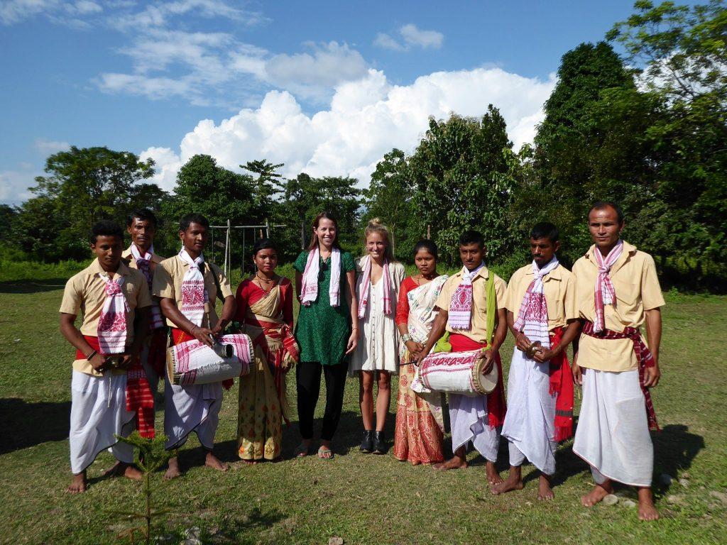 Assam dance