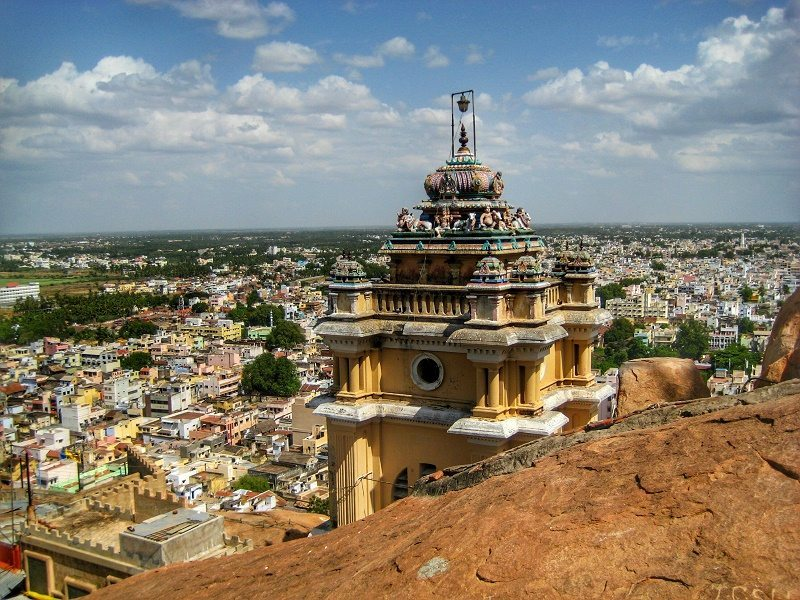 View over Trichy
