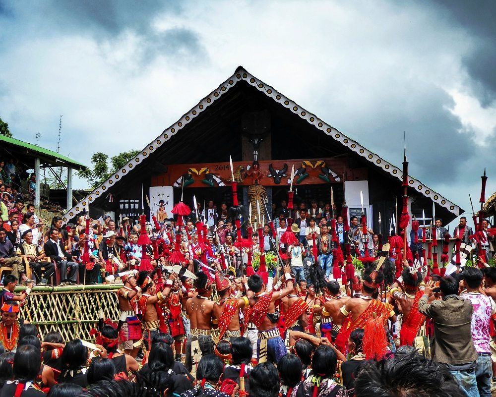 Aoling Festival in Wakching. Nagaland