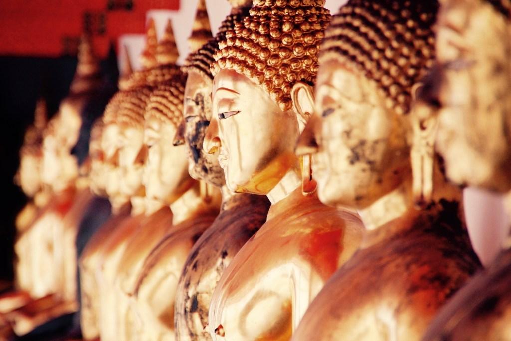 Golden Buddhas in Bangkok