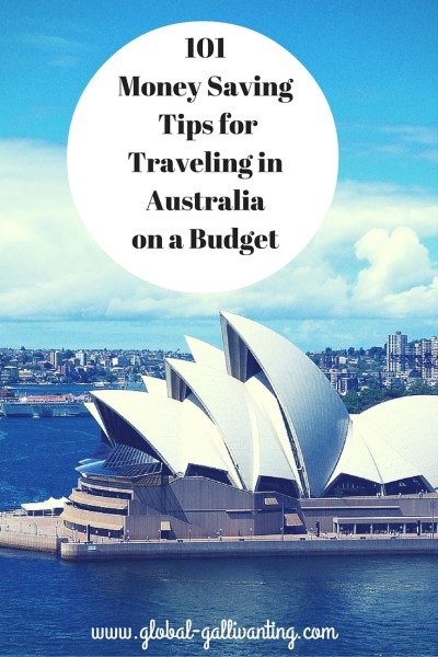 101 Money Saving Tips for Backpacking Australia on a Budget