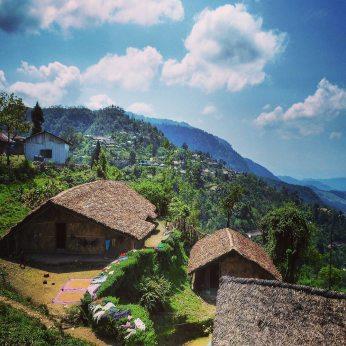 village of Longwa in Nagaland, North East India