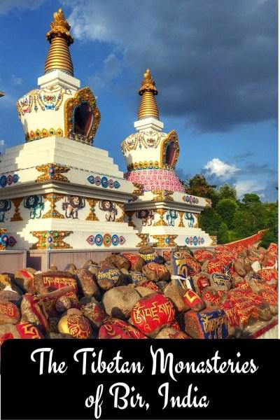 The Tibetan Monasteries of Bir, India