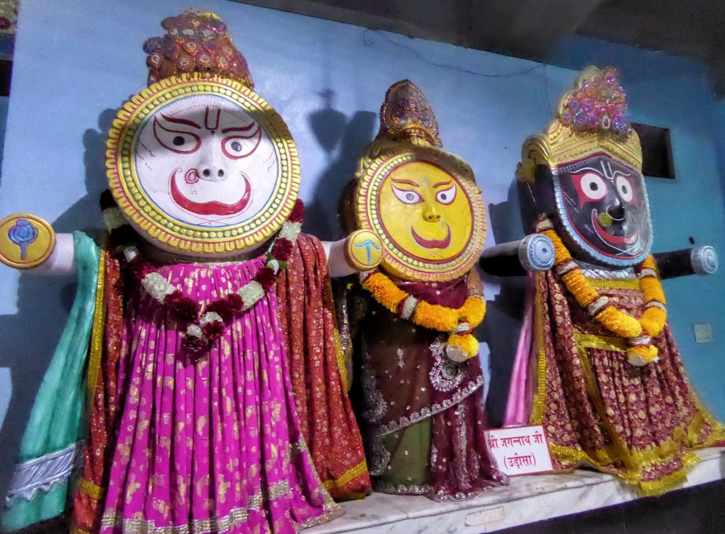 strange deities at Mata Lal Devi Temple in Amritsar