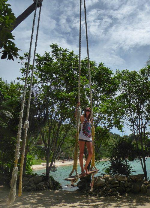 Hanging out at Koh Raham, Secret Beach, Koh Phangan