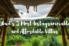 Ubud's 5 Most Instagrammable and Affordable Villas