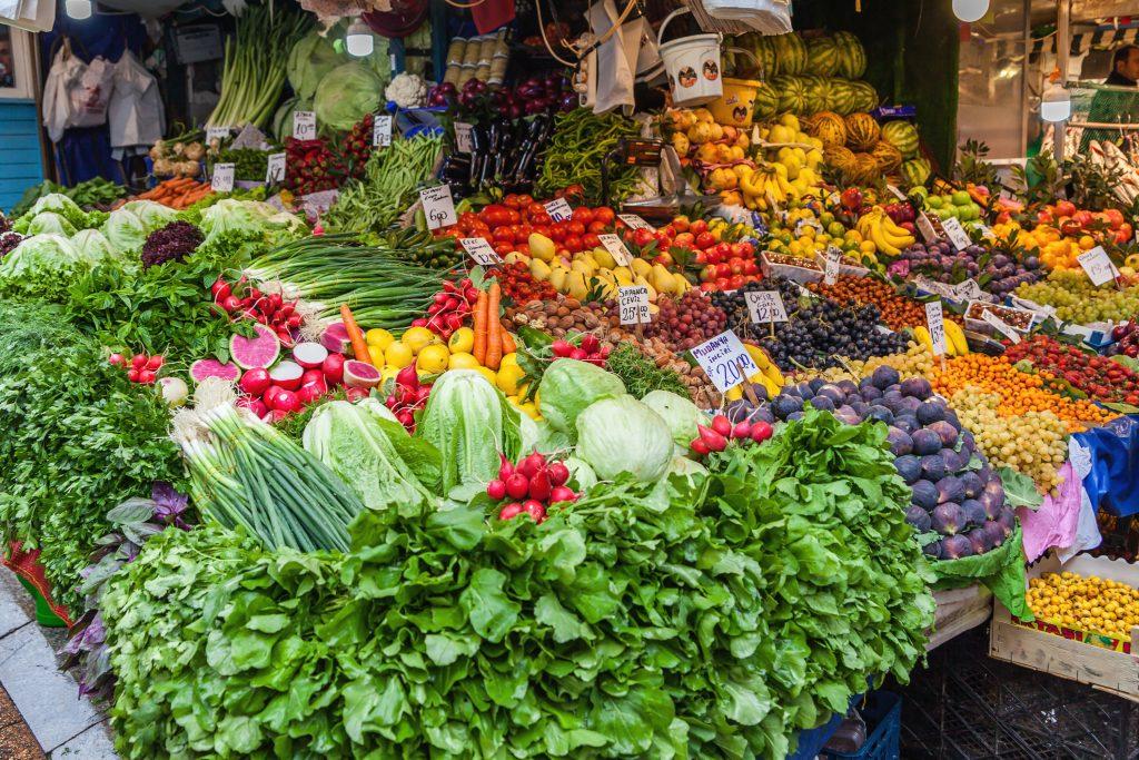 Farmers market in Istanbul