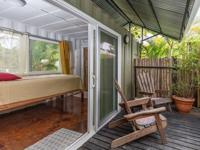 danyasa eco retreat container cabin rooms