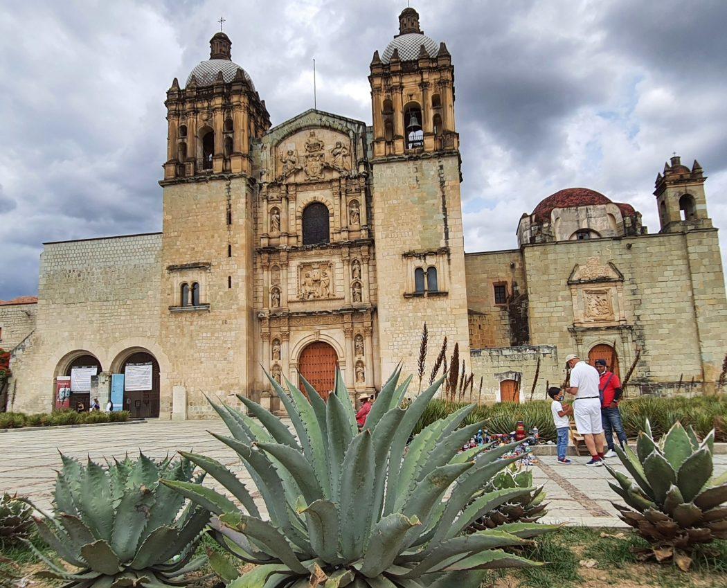 Templo Santa De Domingo, Oaxaca, Mexico