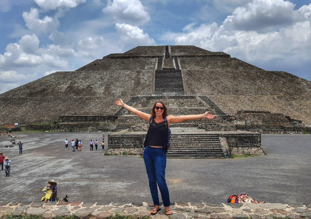 Teotihuacan pyramids global gallivanting backpacking mexico solo 2021