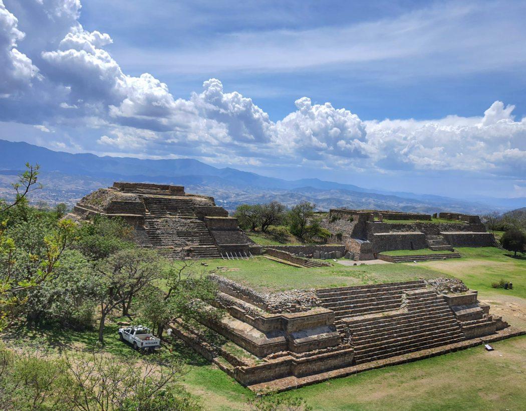 Monte Alban ruins, Oaxaca itinerary, Mexico
