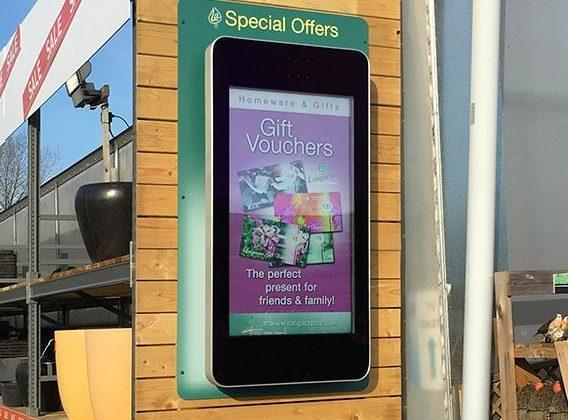 Outdoor Advertising Display
