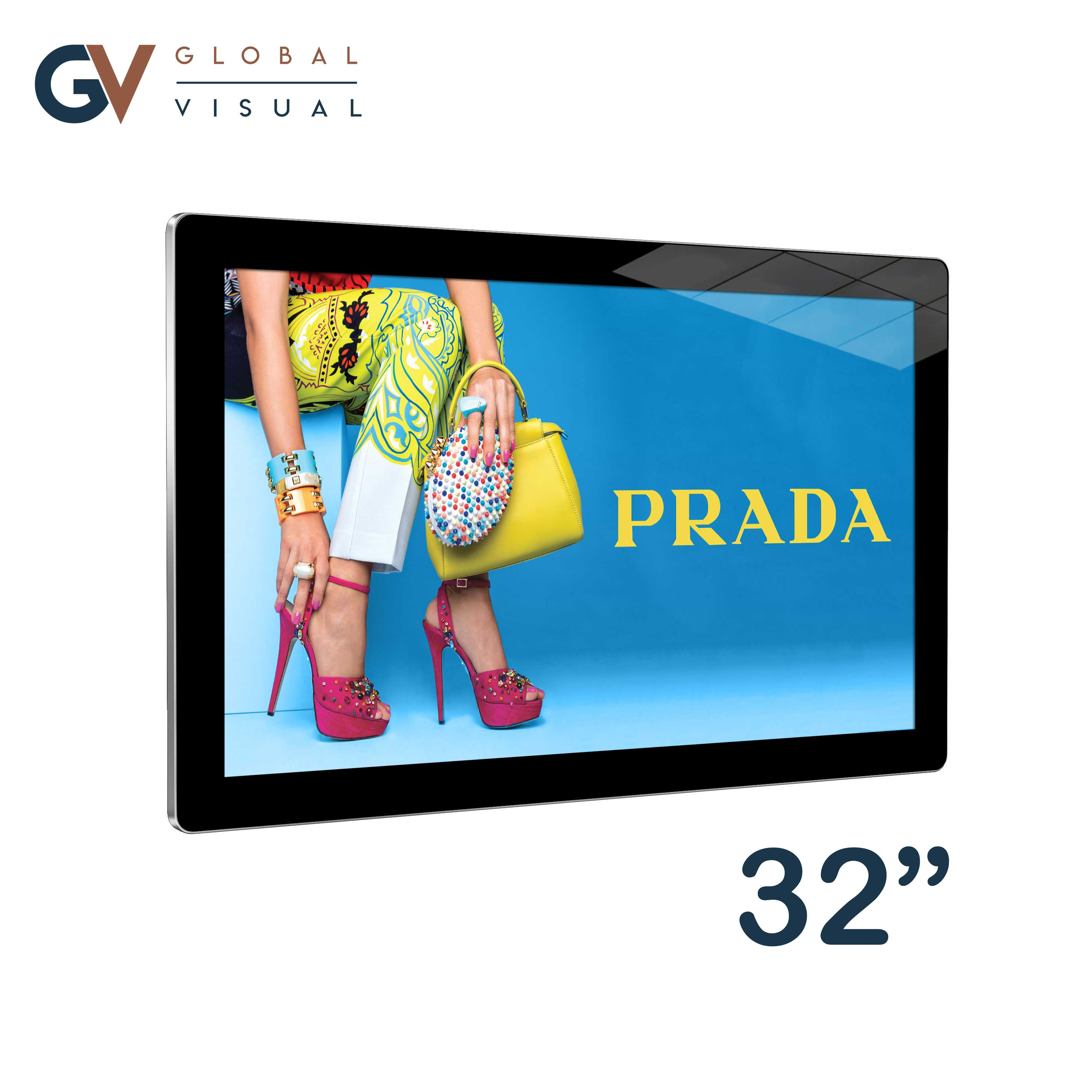 image of a 32 inch Android Advertising Display