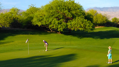 5 Different courses for golfers of all skill levels. Get out early and avoid the hot weather!