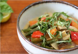 A delicious serving of vegan Thai curry vegetables. Photo Credit: NY Times