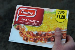 Findus Beef Lasagne was found to contain horse meat. Photo Credit: Andrew Yates, AFP/ Getty Images