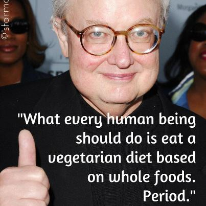 Roger Ebert on Vegetarian Diet
