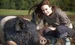 Alicia Silverstone on a Farm