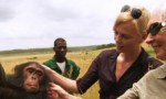 charlize theron and chimps