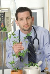 Dr. Kramer prescribes cannabis to canines. Photo Credit: Doug Kramer, Vice