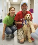 family reunited with missing dog after oklahoma tornado
