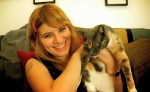 Bethany Cosentino of Best Coast with cat