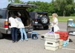 PAWS Chicago pack up vans with shelter animals from Oklahoma