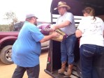 Safe Haven Horsen Feathers Equine Rescue transport supplies to oklahoma tornado victims