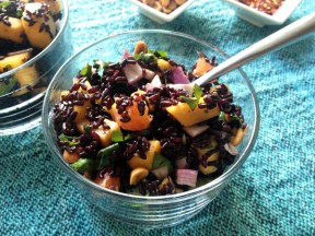 Try this amazing vegan rice salad. Photo Credit: Vegangela