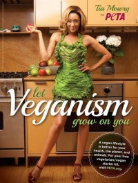 Tia Mowry wears nothing but greens to promote vegan living. Photo Credit: Google Images