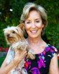 marcia goldman and therapy dog, Lola yorkie