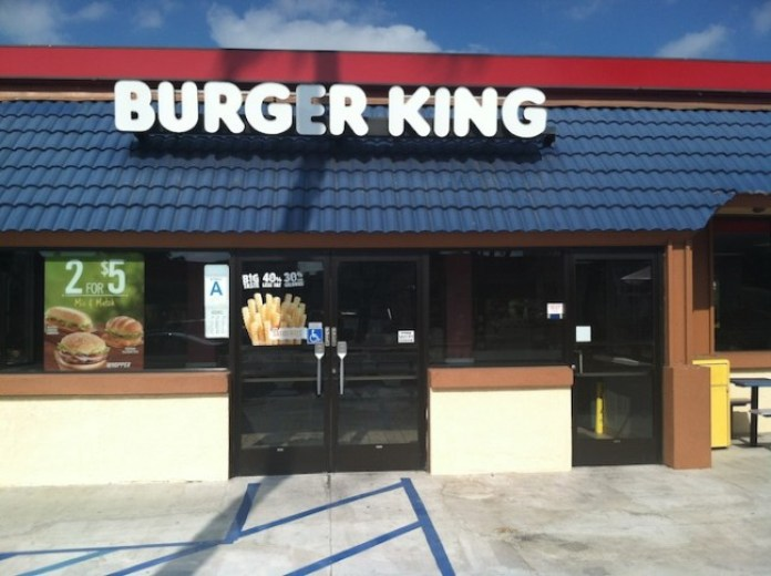 The fast-food chain Burger King now offers veggie burgers for a meatless alternative to their usual fare./Photo credit: Lisa Singer