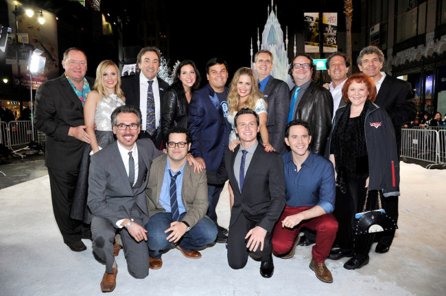 Walt Disney Animation Studios held an event to celebrate Frozen's wrap.