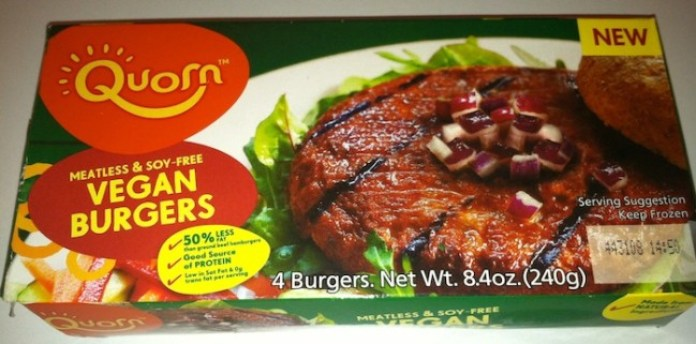 Quorn Vegan Burgers are a meat-less and soy-free hamburger alternative perfect for both vegetarians and vegans alike./Photo credit: Lisa Singer