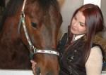 priscilla presley with horse