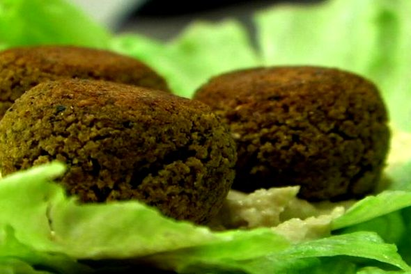 Baked Falafel is a great source of protein. (VEGAN/VEGETARIAN)