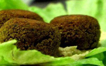 Baked Falafel is a great source of protein. (VEGAN/VEGETARIAN)