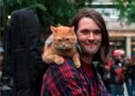 James Bowen and Bob the Cat
