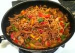 Thai Noodles w: Seitan