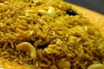 (VEGAN/VEGETARIAN) Serve this basmati rice side dish with your favorite Indian dish.