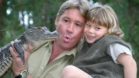 """Bindi, the daughter of Australian """"crocodile hunter"""" Steve Irwin,  who died in 2006 from a stingray barb, announced she's teaming up with Sea World for a new initiative called Generation Nature./Photo credit: herald sun.com.au"""