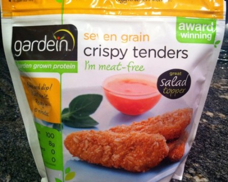 Gardein Seven Grain Crispy Tenders are a healthy and delicious vegetarian alternative to chicken nuggets./Photo credit: Lisa Singer