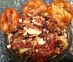 Lentil, Sundried Tomato & Artichoke Hearts Dip