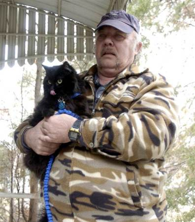 Schnautzie the kitten saved his family from a potential disaster. Photo credit: