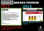 Groupon Break Promise