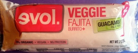Ewol's Veggie Fajita Burrito makes SELF Magazine's Self Healthy Food Awards list./Photo credit: Lisa Singer
