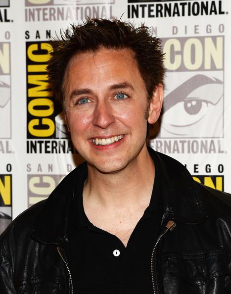 James Gunn's Guardians of the Galaxy stars Chris Pratt, Zoe Saldana, Bradley Cooper and Vin Diesel.