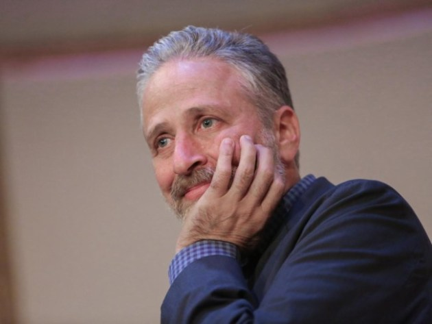 Jon Stewart attends a 2015 Farm Sanctuary gala in New York City Getty Images/Brent N. Clark